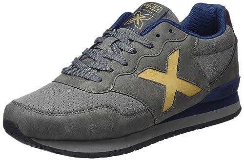MUNICH Zapatillas de Deporte Unisex Adulto, (4150016 Blanco), 40 EU: Amazon.es: Zapatos y complementos