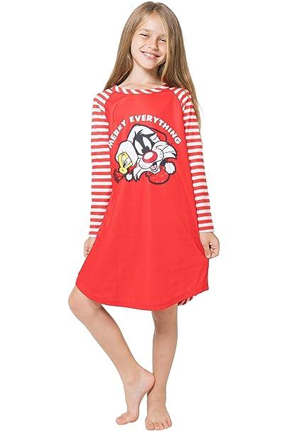 Amazon.com: Intimo niña feliz todo Raglan camisón: Clothing