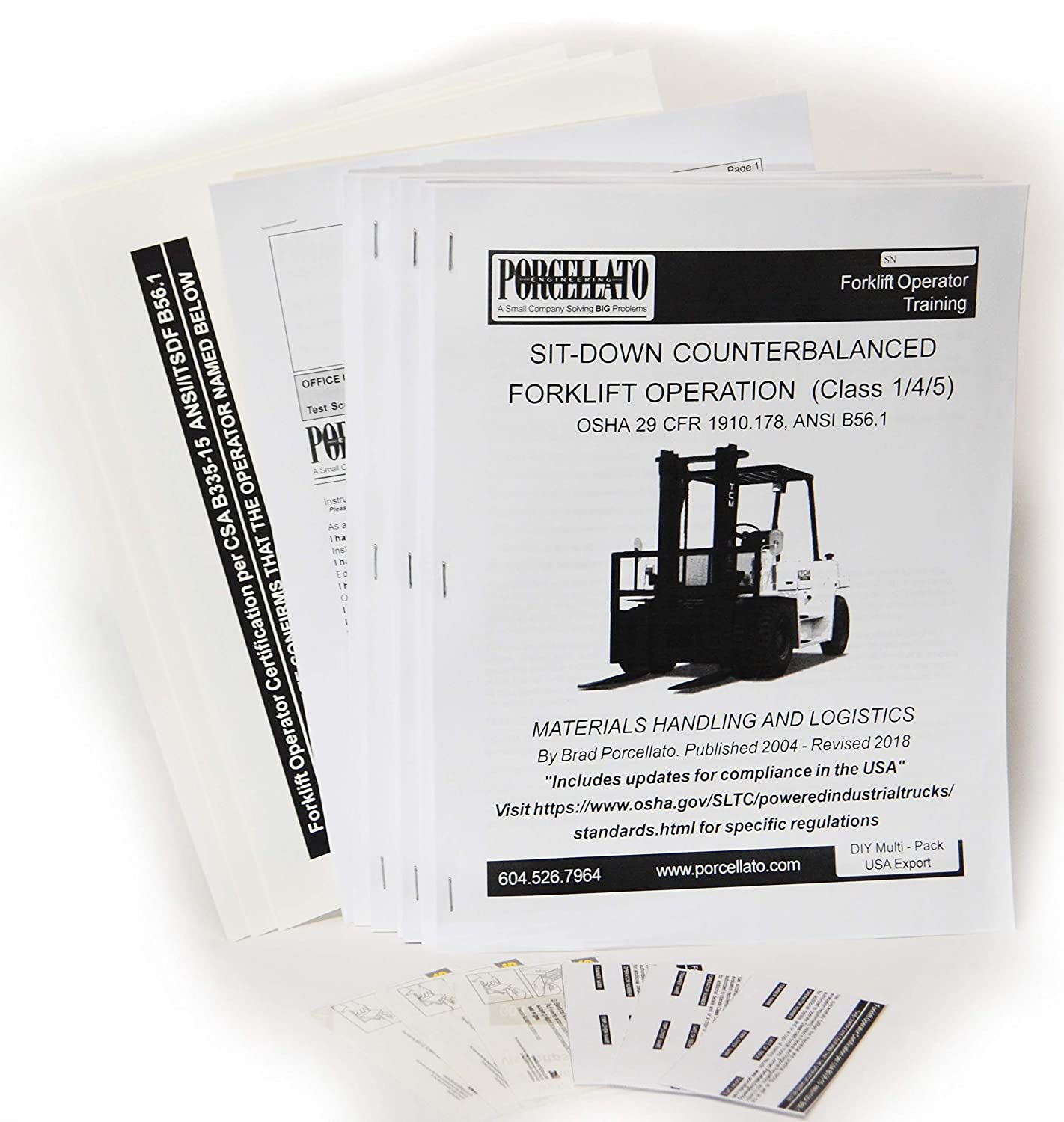 Amazon Forklift Operator Training Kits 3 Diy Home Improvement