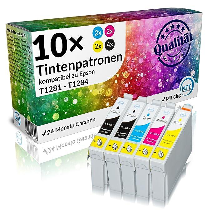 n.t.t. ® 10 unidades XL 100% Calidad cartuchos de impresora de ...