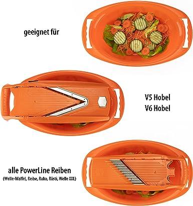 Bandeja de recuperación ovalado con chino para el verduras V5 ...