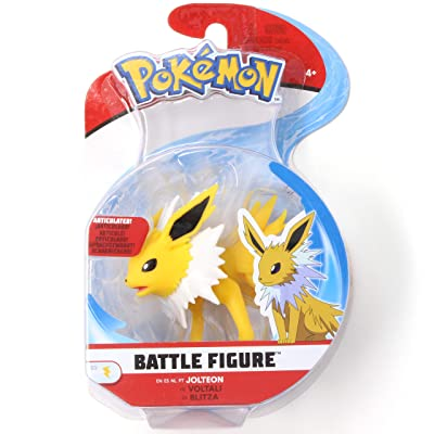 Pokémon Battle Figure Jolteon 3 Inch Series 3 Single Pack: Toys & Games