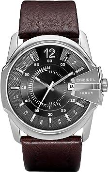 Diesel Reloj Analogico para Hombre de Cuarzo con Correa en Piel DZ1206