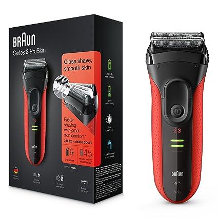 Braun Series 3 ProSkin 3030S - Afeitadora eléctrica para hombre ... c04a3e7a6c29