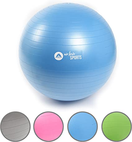 Bola de gimnasia anti-explosión de la marca Apollo, pelota de ...