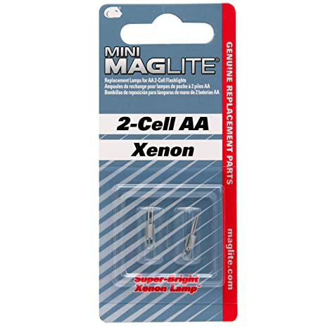 """Authentic OEM /""""AA/"""" Mini Maglite Replacement Lens"""