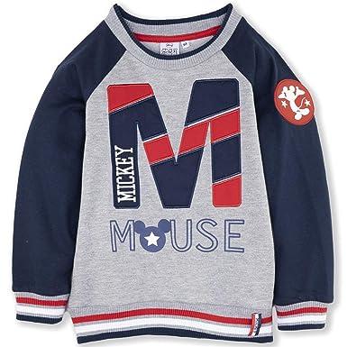 Disney Sudadera con diseño de Mickey Mouse, niños de 2 a 8 años, 2018/19: Amazon.es: Ropa y accesorios