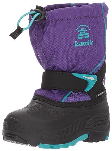 038a362ac174 Kamik Girls  Sleet Snow Boot Purple Teal 8 Medium US Toddler