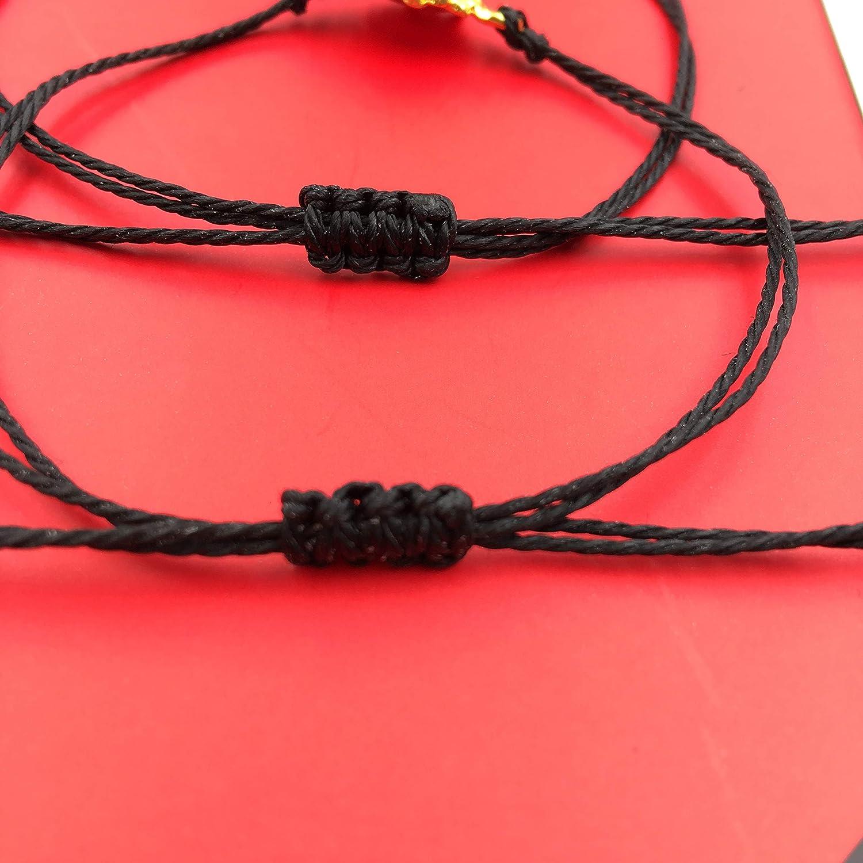 Your Always Charm Sunflower Bracelets for 2 Best Friends Couples Waterproof String Bracelets Friendship