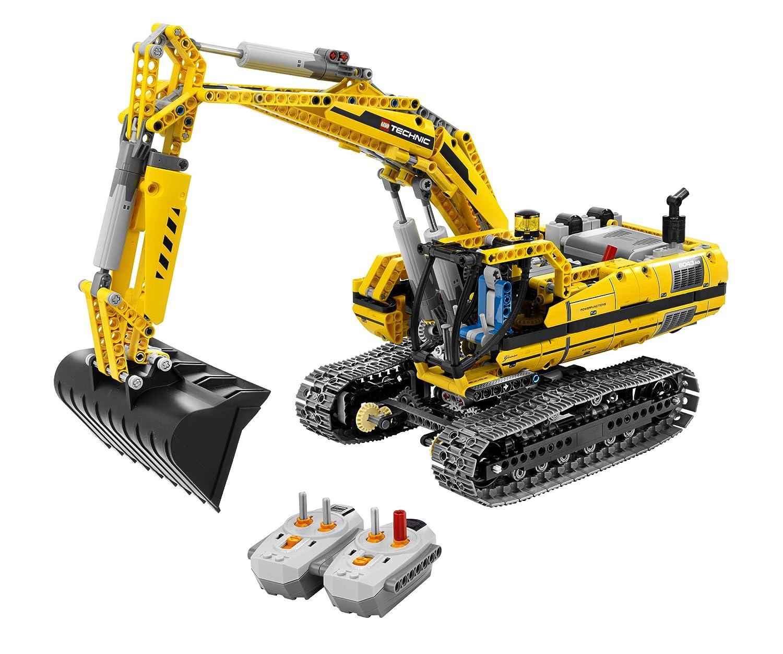 Amazoncom Lego Technic Motorized Excavator 8043 Toys Games