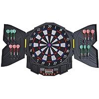 Homcom® Elektronische Dartscheibe Dartboard Dartpfeile