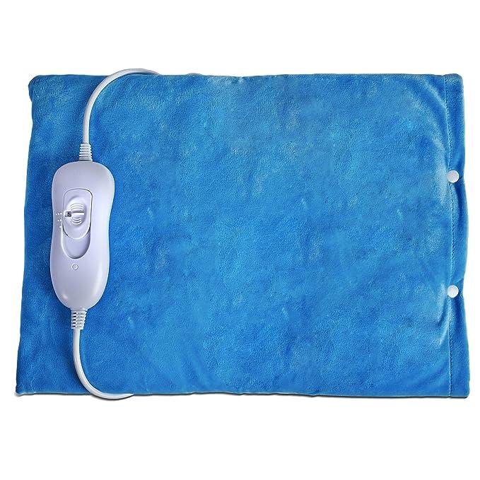 FiNeWaY @ eléctrico calefacción almohadilla térmica cuello, espalda y cuerpo (alivio del dolor terapia 40 W: Amazon.es: Deportes y aire libre