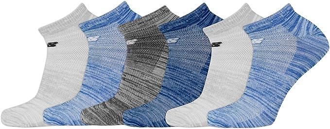 Show Socks (6 Pair), Multicolor, Men