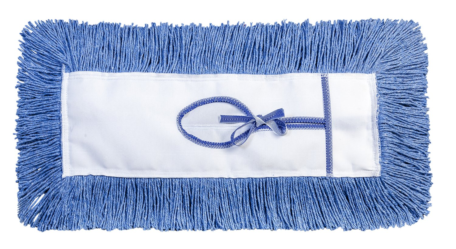 M2 Professional G-STAT Dust Mop Head with Key Hole (Tie-On) Backing, 48-Inch Length x 5-Inch Width - Case of 6 - For Industrial, Commercial & Home Uses, Perfect for Hardwood, Laminate, Concrete, etc. by M2 Professional Cleaning Products Ltd.