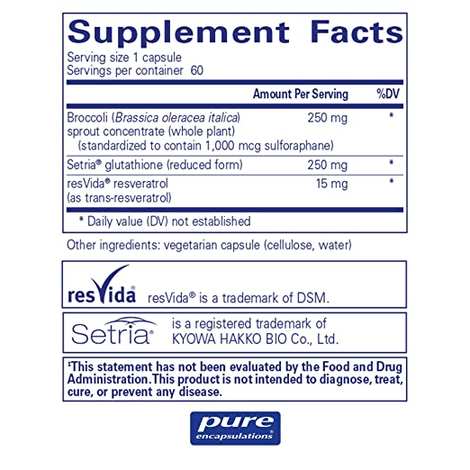 Amazon.com: Pure Encapsulations – nrf2 Detox – nrf2 y ...