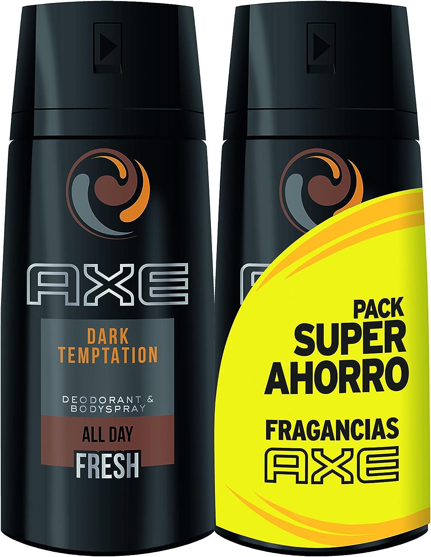 AXE Desodorante Dark Temptation Duplo Ahorro - 2 Paquetes de 2 x ...
