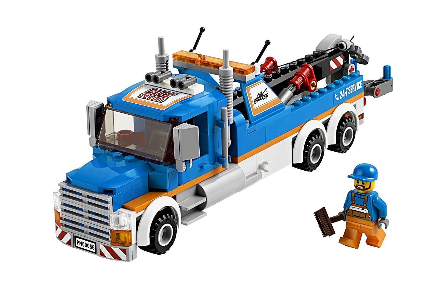 Amazoncom Lego City Great Vehicles 60056 Tow Truck Toys Games
