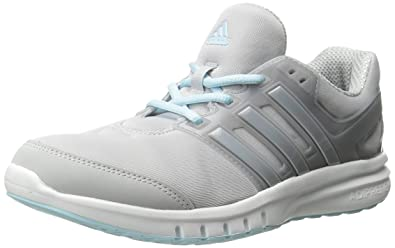 women's adidas running shoes size 7 Grey and blue cloudform