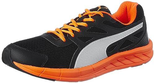 606c68212632 Puma Men s Driver 2 Puma Black-Shocking Orange Running Shoes - 10 UK India