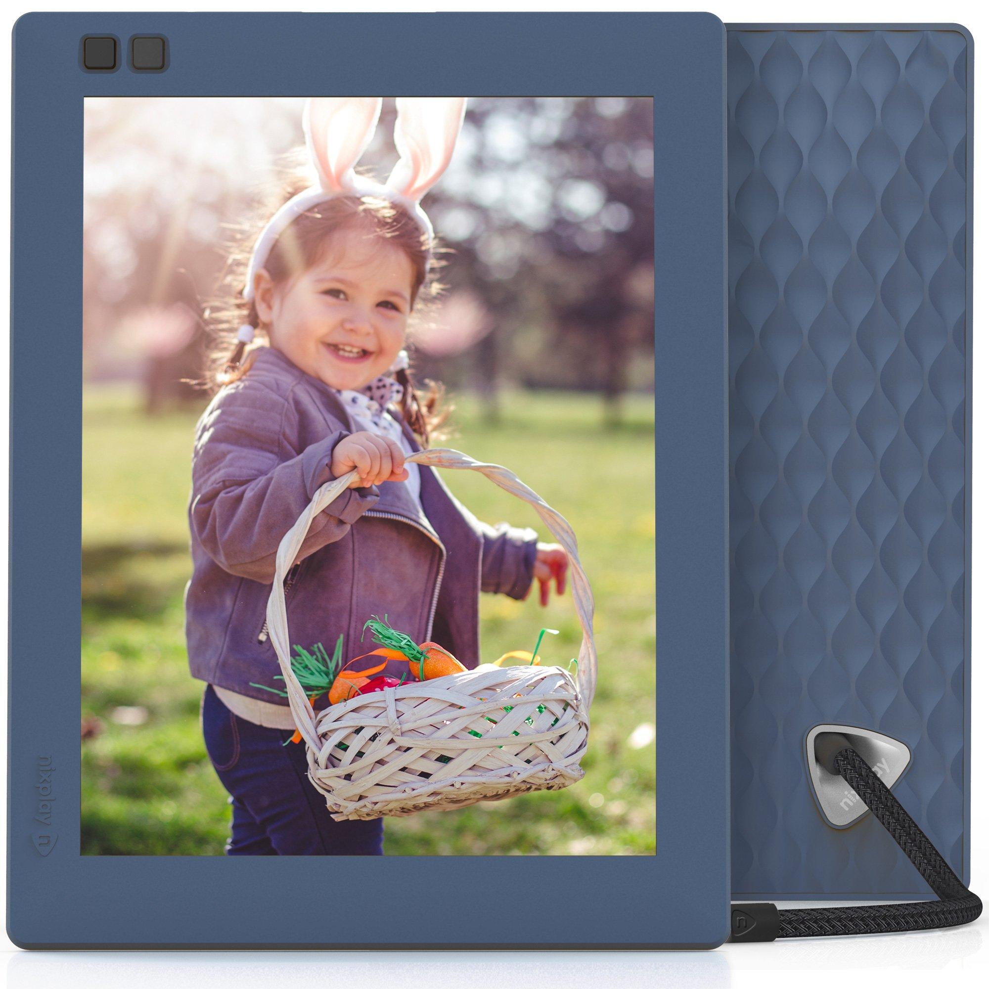 Nixplay Seed 8 inch WiFi Digital Photo Frame - Blue by nixplay