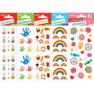 Playhouse Happy Days Super Sticker Sheet Pack for Kids Arts, Crafts & Collecting: Toys & Games