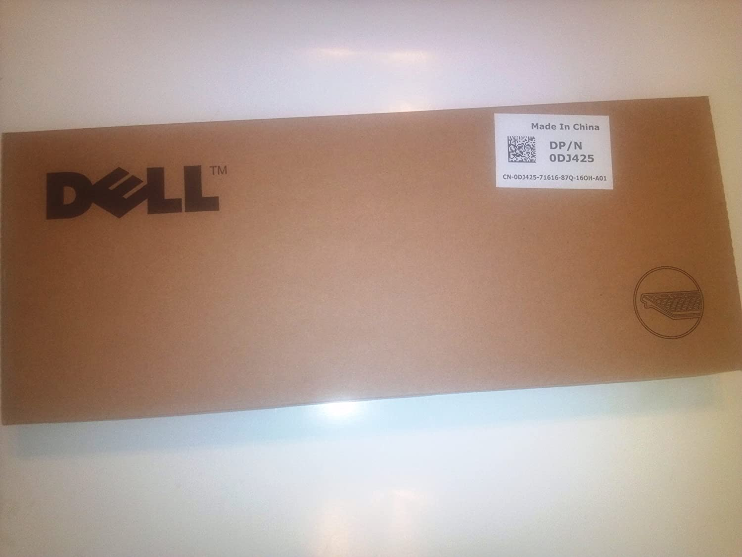 SK-8135 Genuine Dell MultiMedia 104-Key USB Black with Silver Trim Keyboard For Desktop Notebook Systems Extra USB Connectors Part//Model Numbers: DJ425 Y-UK-DEL1 TH836 N6250
