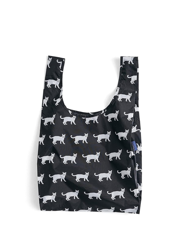 BAGGU Standard Reusable Shopping BagBlack Cat by BAGGU B01F5ZRJVM One Size|ブラックキャット ブラックキャット One Size