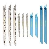 RPR10MX Saxton Stichsägeblätter für Holz & Metall passend für Bosch, Dewalt, Makita