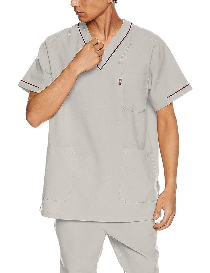 北米カバー砂のおたふく手袋 ボディータフネス 冷感?消臭 パワーストレッチ 半袖ハイネックシャツ JW-624 ブラック M