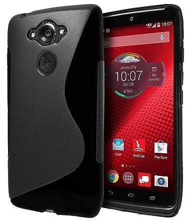 Cimo Motorola DROID Turbo Ballistic Nylon Case, [Wave] Premium Slim TPU Flexible Soft