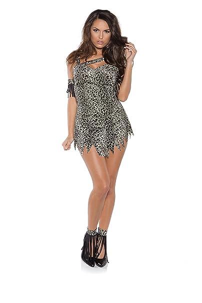 51e601c97d3c45 Underwraps Costumes Women s Sexy Caveman Costume - Jungle Queen ...