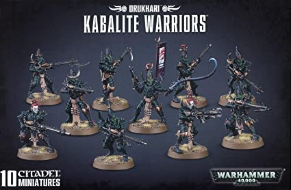 Amazoncom Games Workshop Warhammer 40k Drukhari Kabalite Warriors
