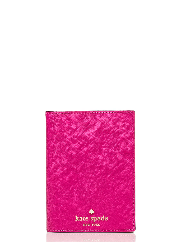 Kate Spade Mikas Pond Leather Passport Holder Case