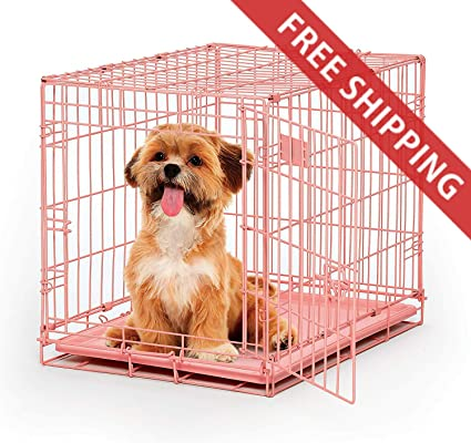 Amazoncom Rv Dog Crate 24l X 18w X 19h Inches Metal Folding For
