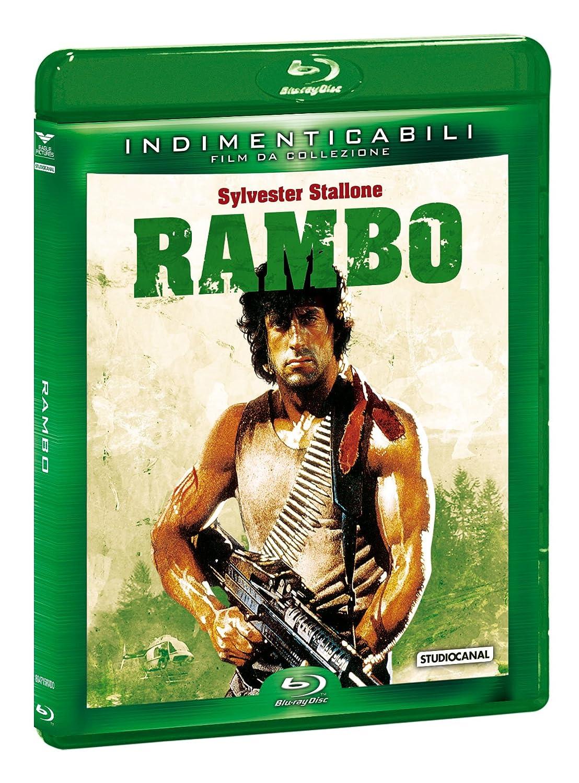 Rambo (Indimenticabili) [Italia] [Blu-ray]: Amazon.es: David Caruso, Richard Crenna, Brian Dennehy, Jerry Goldsmith, Sylvester Stallone, Ted Kotcheff, David Caruso, Richard Crenna: Cine y Series TV