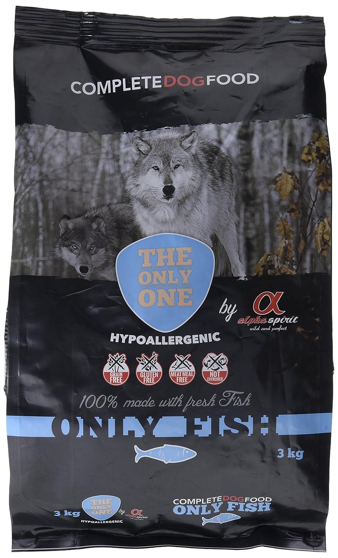 Alpha spirit Alimento Completo Seco Only Fish Hipoalergénico para Perros Adultos - 3000 gr: Amazon.es: Productos para mascotas
