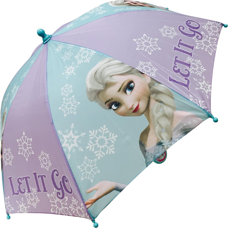Disney Frozen Elsa Umbrella Purple Aqua