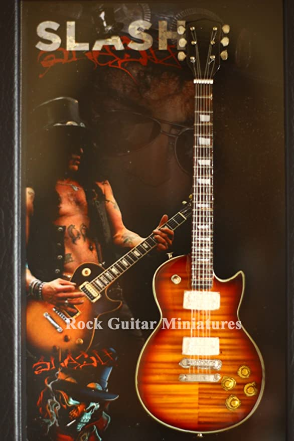 rgm8885 Slash GUNS N ROSES Miniature Guitar Collection (shadowbox Frame: Amazon.es: Iluminación