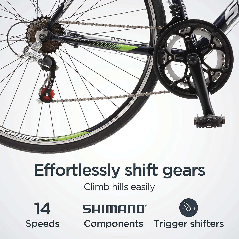 Schwinn Volare 1300 - Bicicleta de carretera para hombre (ruedas 700C, tamaño mediano): Amazon.es: Deportes y aire libre