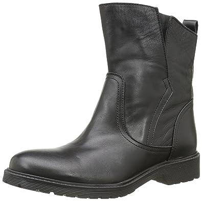 Buffalo Damen 8036 Antique Stiefeletten, Schwarz (Black 01 00), 36 EU 488fd1fc64