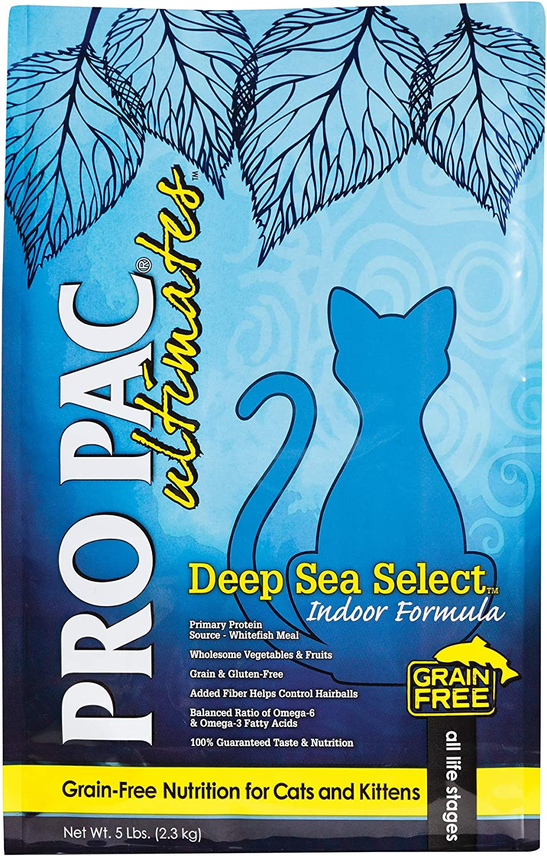 Pro Pac Ultimates Deep Sea Select Grain Free Dry Cat Food, 5 Lb