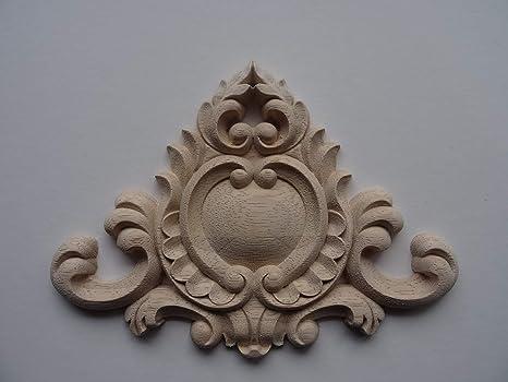 Moldura Decorativa De Madera Grande Para Muebles De Centro