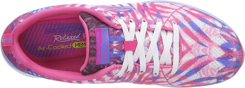 Skechers Damen Valeris Mai Tai Sneakers, Pink (PKPR), 36 EU eEvZa