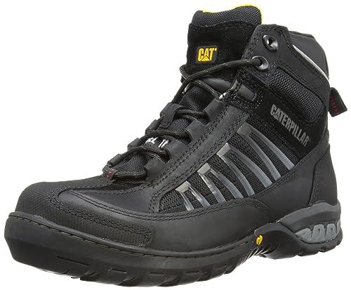 Caterpillar Kaufman Hi St S1P HRO Sra, Zapatos de Seguridad para Hombre, Negro (