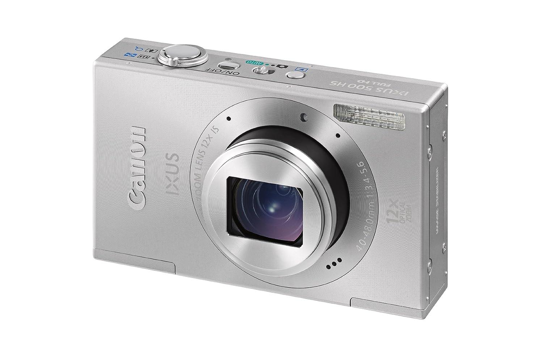 Canon IXUS 500 HS Digital Camera - Silver 3.0 inch LCD: Amazon.co.uk:  Camera & Photo