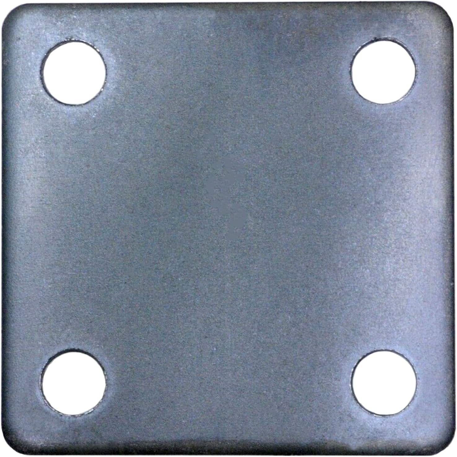 x 5//32 1 Steel Base Plate with Holes 7//16 Hole Steel Base Plate 4 x 4
