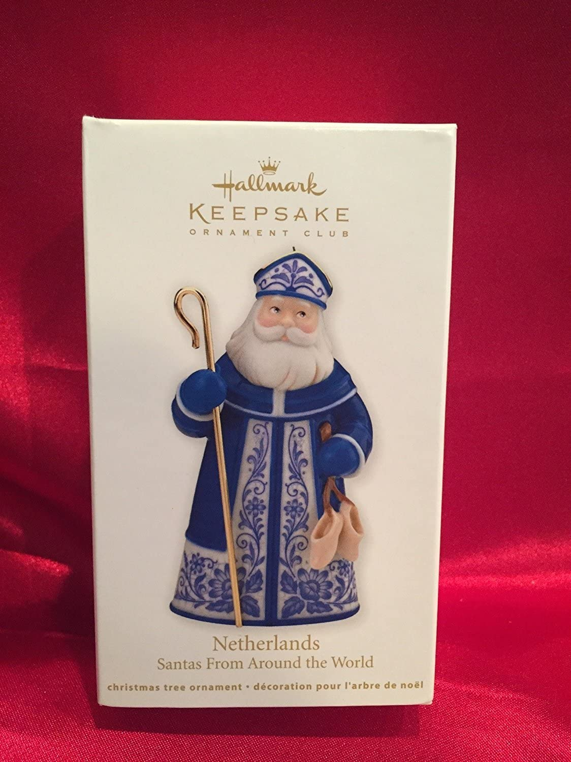 LOOKING GOOD FOR THE LORD HALLMARK ORNAMENT 2012 RED HAT FREE SHIP IN US~