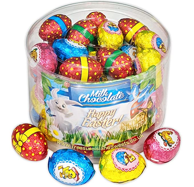 Easter Eggs Bulk Box Of 100