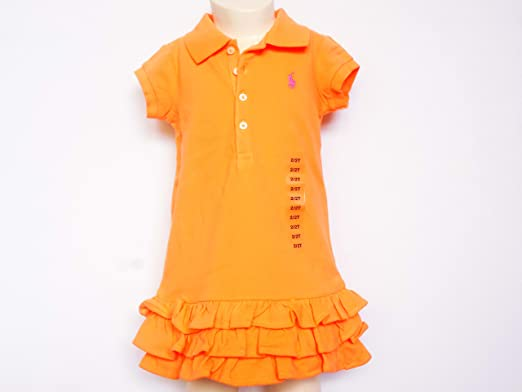 Ralph Lauren Polo Dress SS Deveron infantil, para niña Polo ...