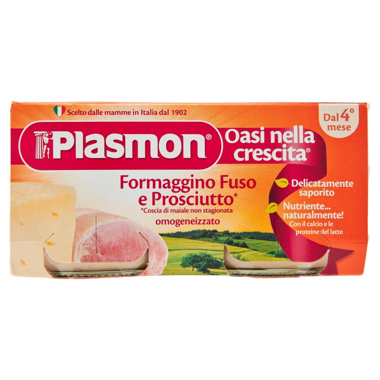 Plasmon Cheese-Ham meal puree (2x80g)